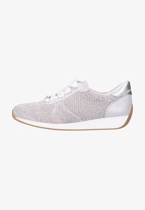 Sneakers laag - candy-white/sasso/ silver