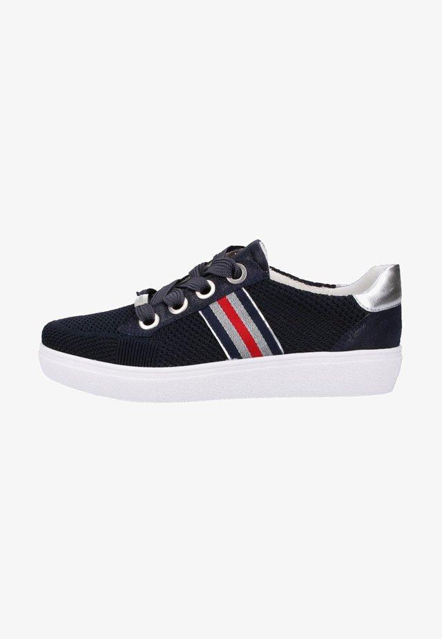 Sneakers laag - blau, silber