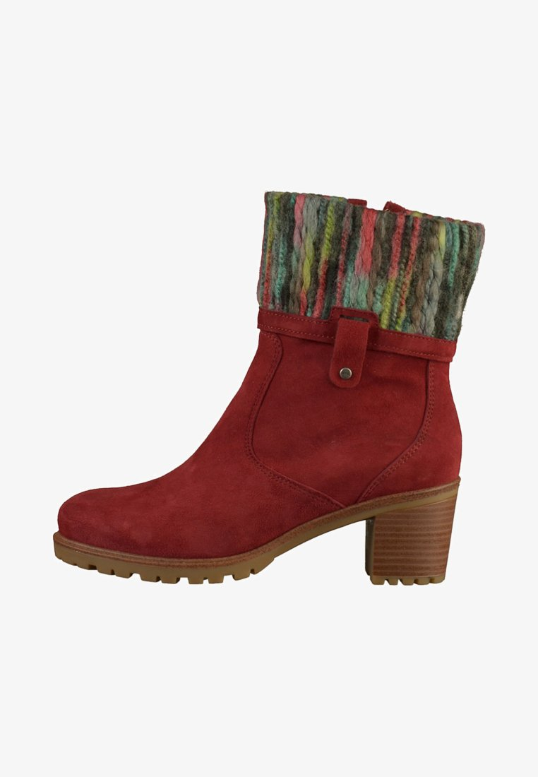 ara - Ankle boots - red