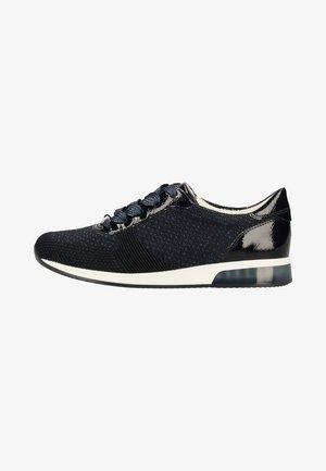 Sneakers laag - blue metallic