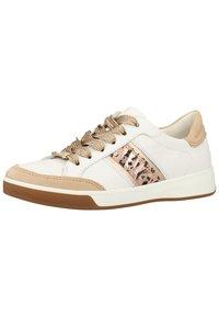 ara - Baskets basses - camel/white/platinum/powder - 2