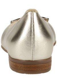 ara - Ballet pumps - white gold - 3