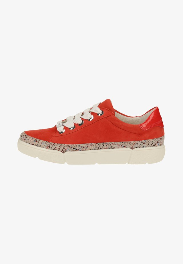 Sneakers laag - corallo