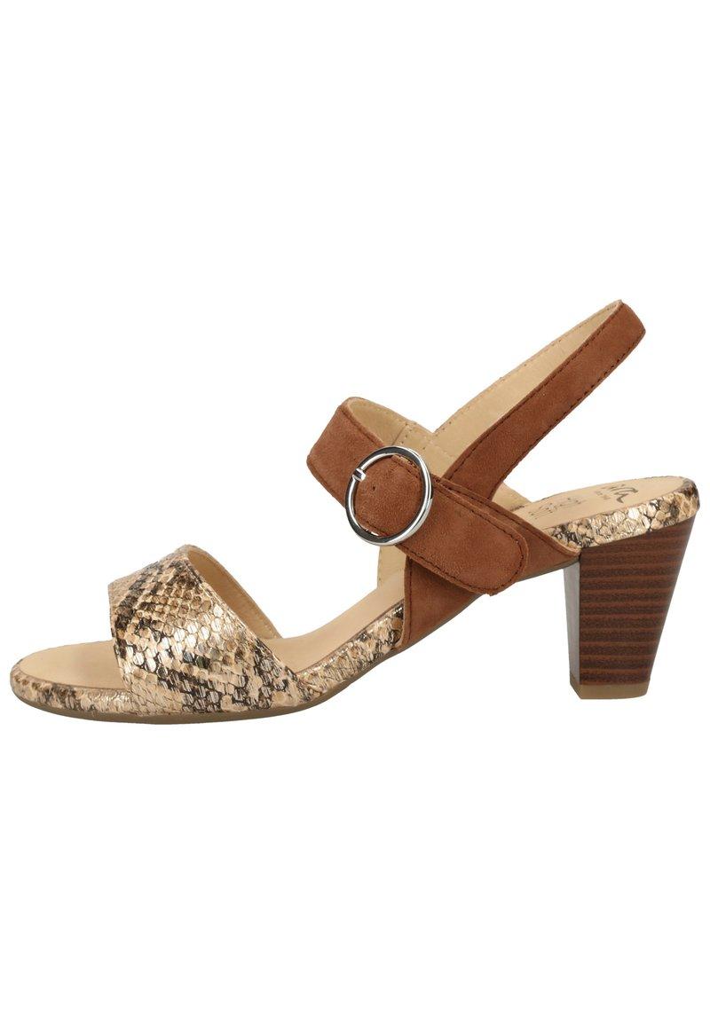 ara - Sandaler - taupe/camel 09