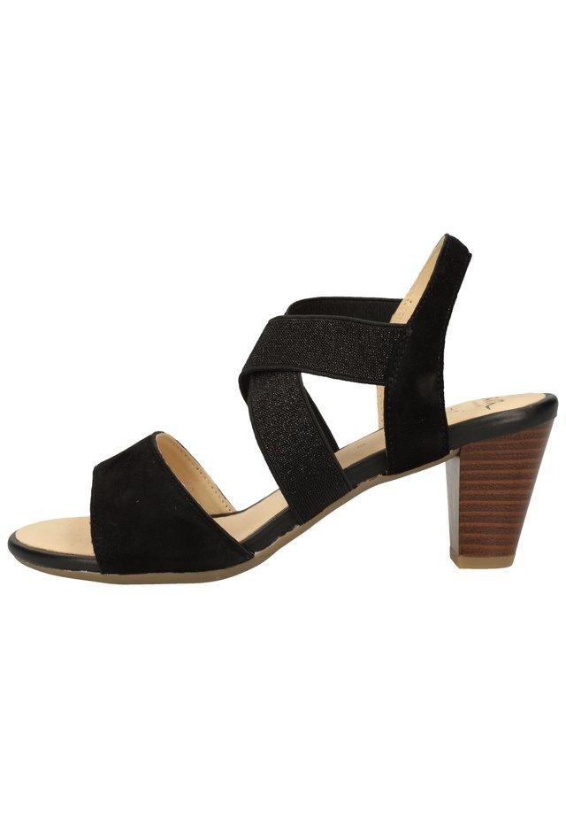 Sandalen - schwarz 01
