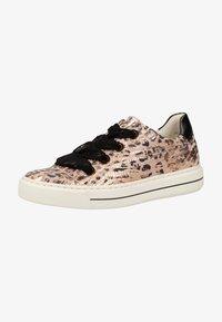 ara - SNEAKER - Sneakers - puder/schwarz 08 - 1