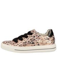 ara - SNEAKER - Sneakers - puder/schwarz 08 - 0