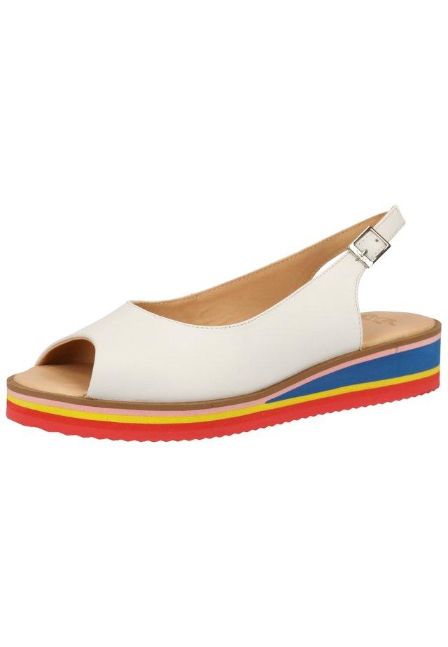 Sandalen - weiß 06