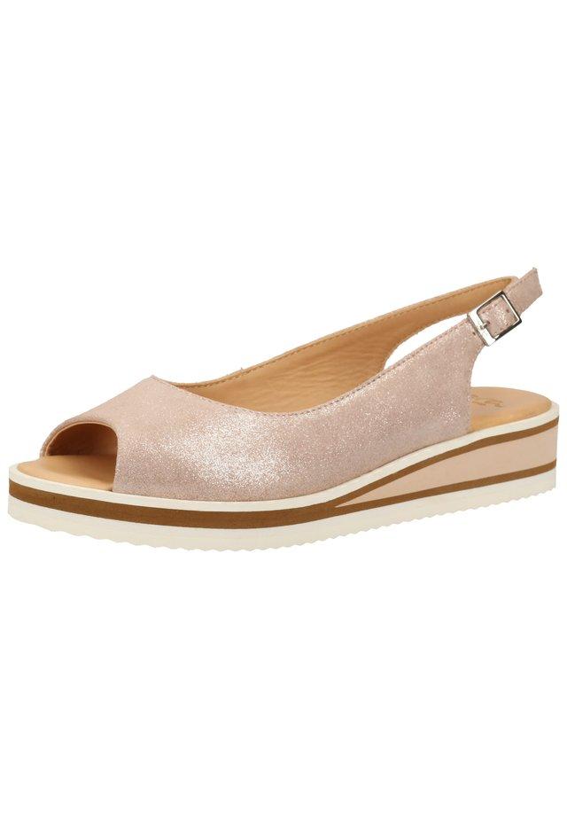 Sandals - rosegold 08