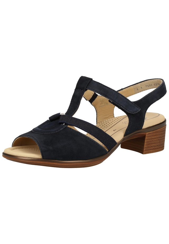 Sandalen - blau 09