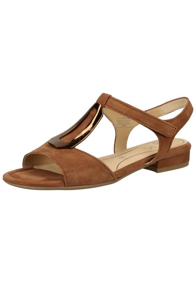 Sandals - cognac 11