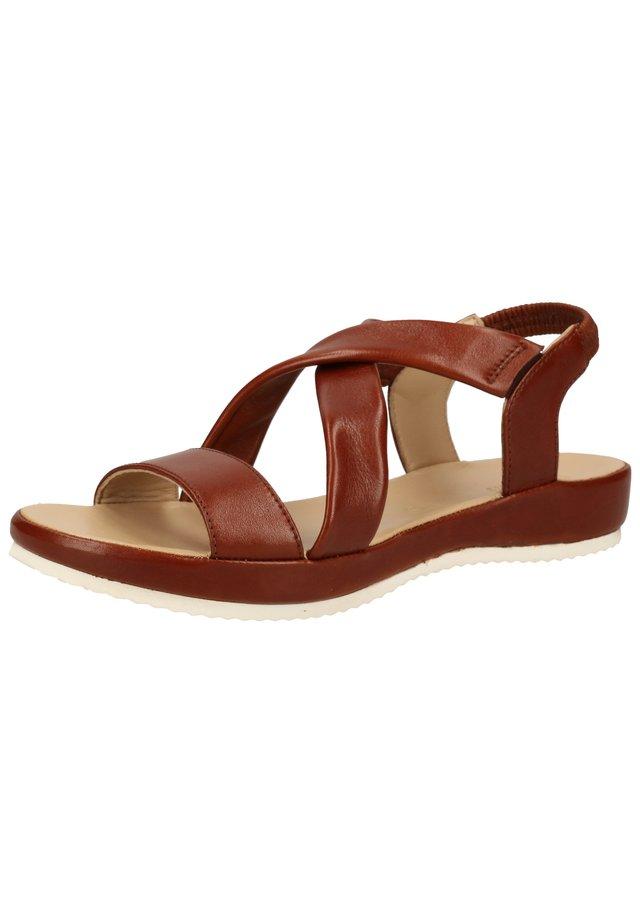 Sandales - cognac 05