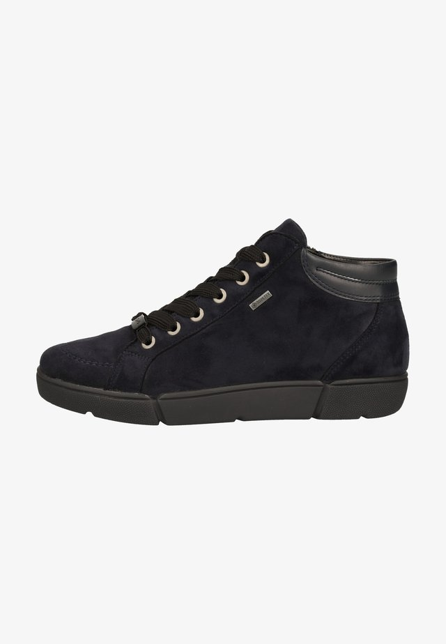 Sneakers high - navy, blau