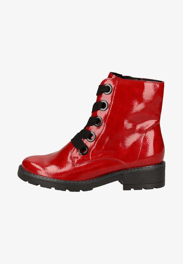 Bottines à lacets - rosso 83