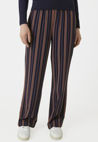 ARMEDANGELS - RELAXED FIT - Trousers - blue/maroon - 0