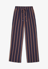 ARMEDANGELS - RELAXED FIT - Trousers - blue/maroon - 4