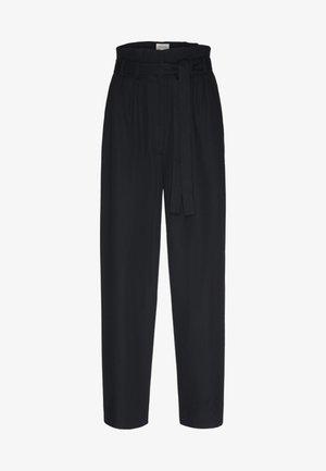 TIMEAA - Trousers - black