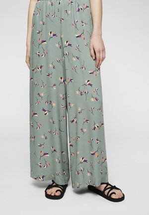 NAIMAA LITTLE BRANCHES - Stoffhose - fresh olive