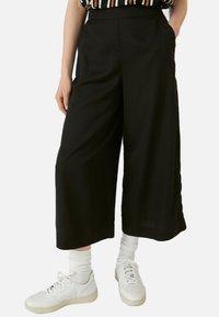 ARMEDANGELS - KAYLAA - Trousers - black - 0