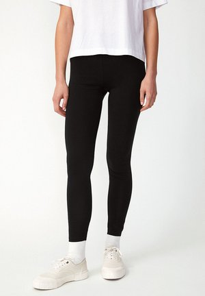 FARIBAA - Leggings - Trousers - black