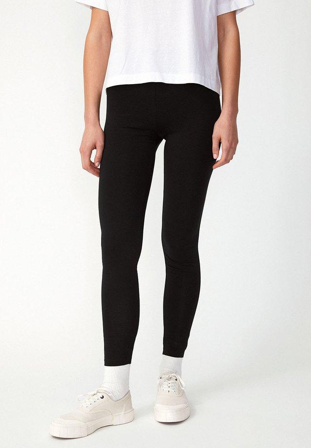 FARIBAA - Leggings - Trousers - black