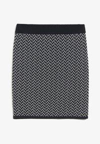 ARMEDANGELS - BEKE - A-line skirt - black/white - 4