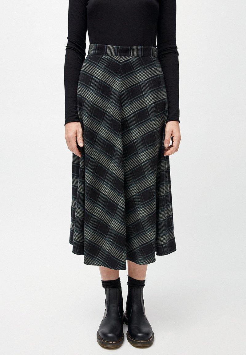 ARMEDANGELS - A-line skirt - juniper green