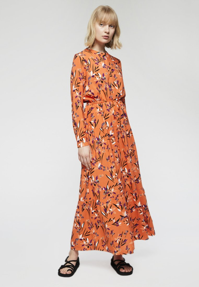 ARMEDANGELS - DENIAA TROPICAL SPIRIT - Maxikleid - orange