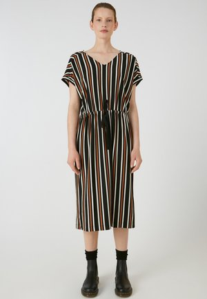 CARMELAA MULTISTRIPE - Maxi dress - black