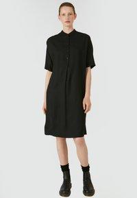 ARMEDANGELS - MAARJULI - Shirt dress - black - 0