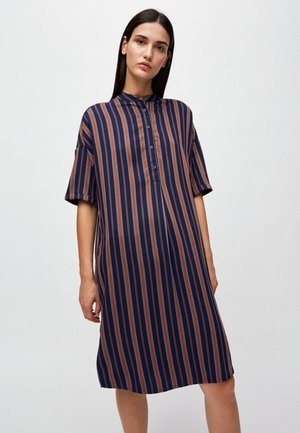 MAARJULI MULTICOL STRIPES - Day dress - blue
