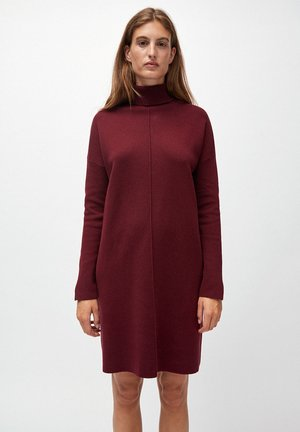 SIENNAA - Jumper dress - bordeaux