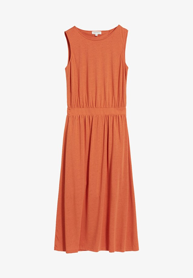 LAMINAA - Jerseykleid - orange