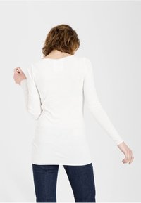 ARMEDANGELS - EVAA - Long sleeved top - off white - 1