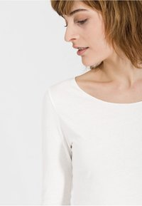 ARMEDANGELS - EVAA - Long sleeved top - off white - 2