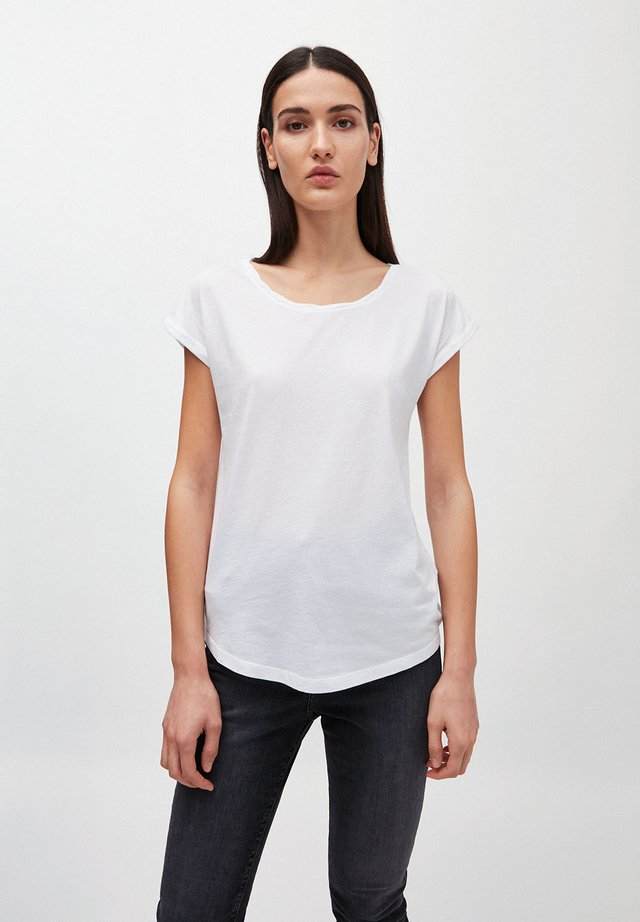 LAALE - Basic T-shirt - white