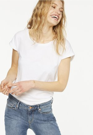 LAALE - T-shirt basic - white