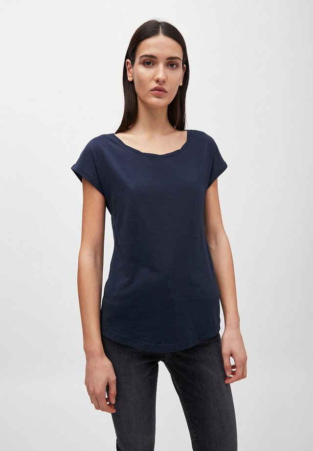 LAALE - T-shirt basic - navy