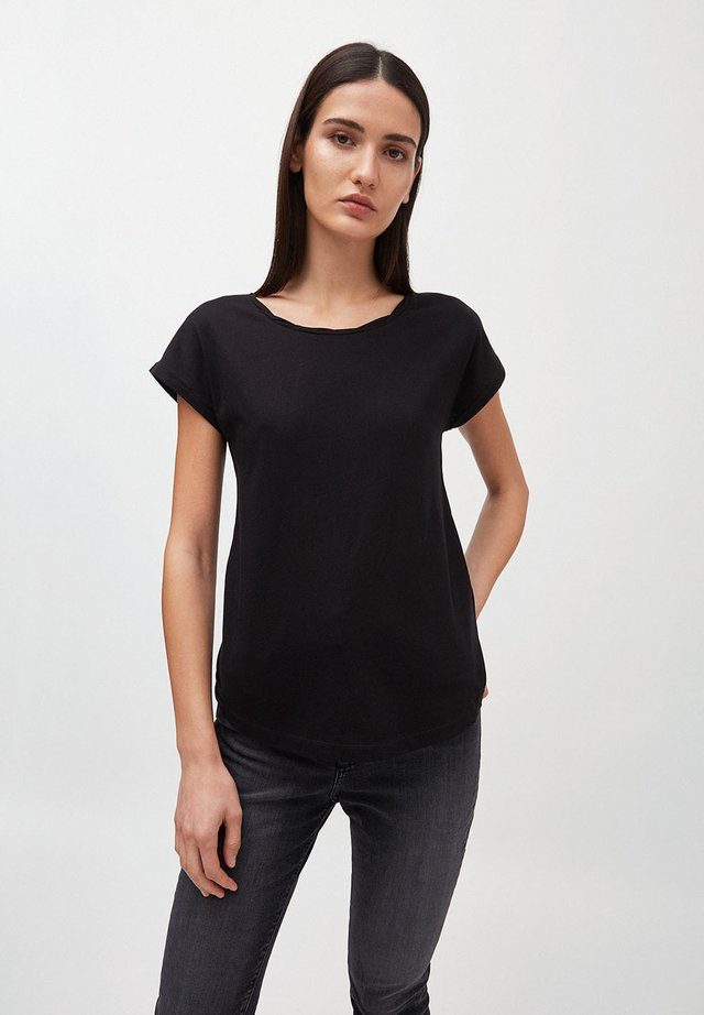 LAALE - T-shirt basic - black
