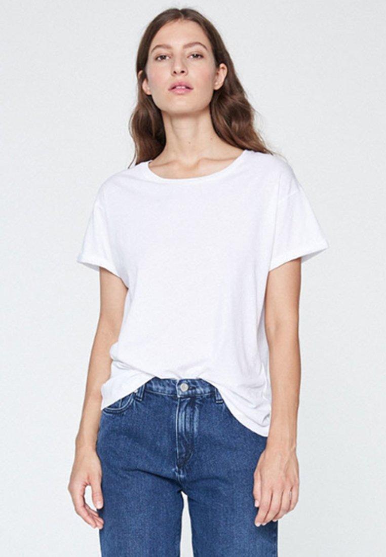 ARMEDANGELS - NAALIN - T-Shirt basic - white