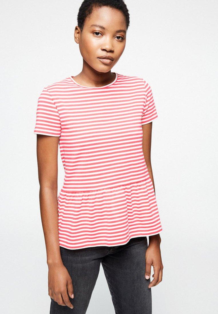 ARMEDANGELS - MAARLIS - Print T-shirt - pink rose
