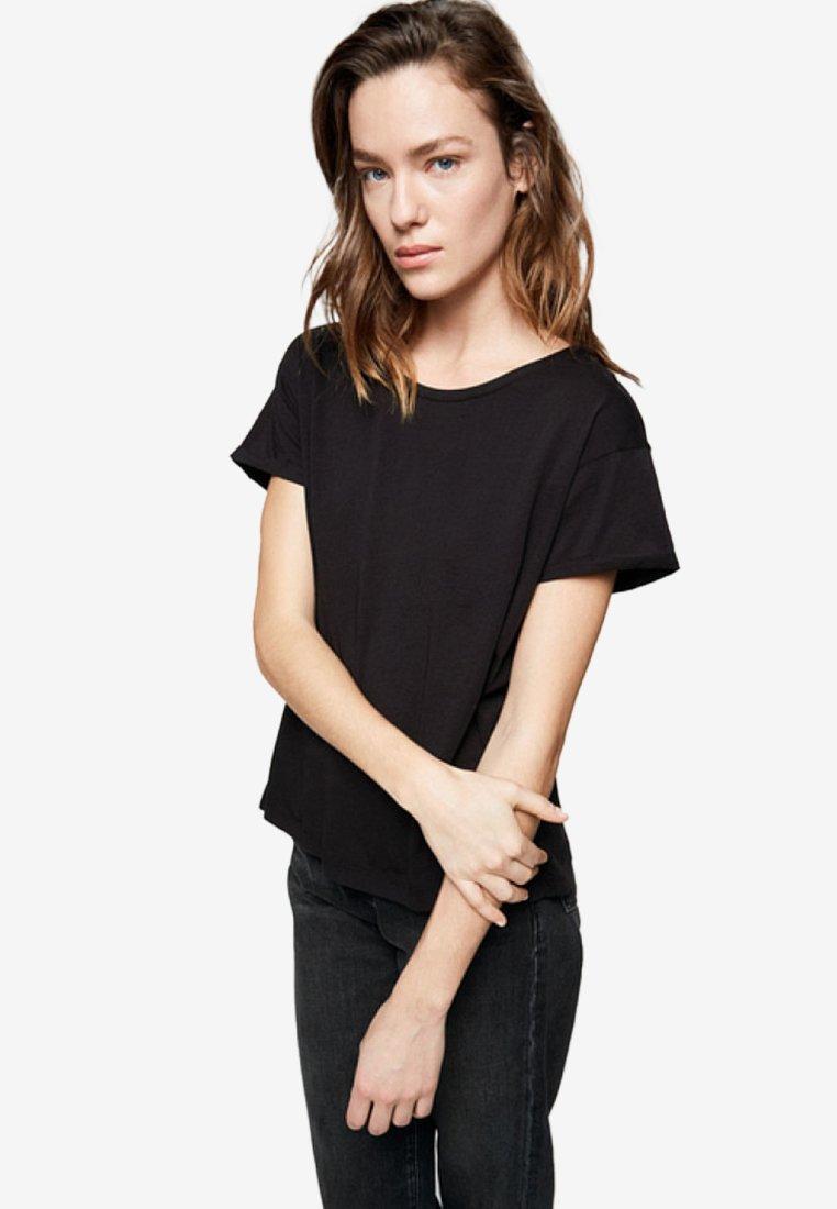ARMEDANGELS - ILKAA - T-Shirt print - black