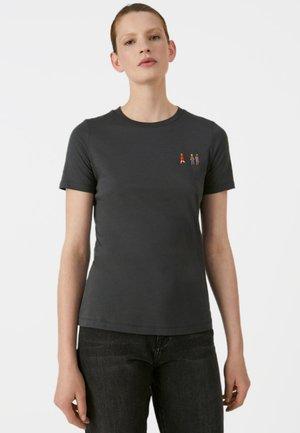 LIDAA GIRLS - Print T-shirt - anthracite