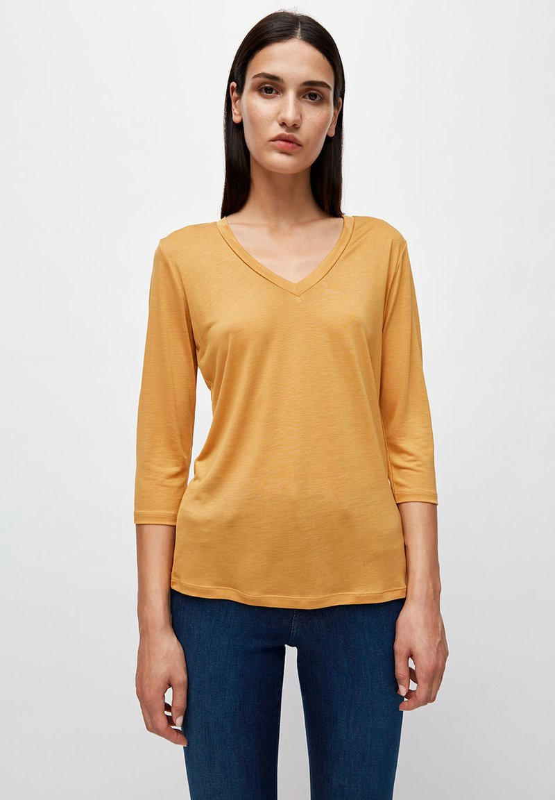 ARMEDANGELS - OLIVAA - Long sleeved top - caramel butter