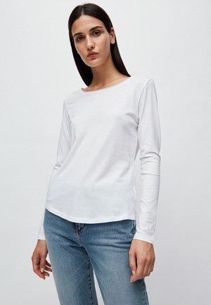 ROJAA - Long sleeved top - white