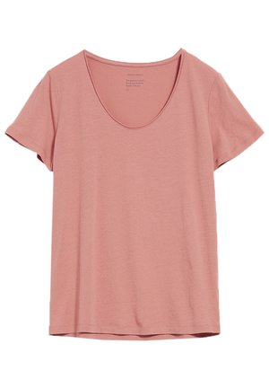 HAADIA - T-shirt basic - cinnamon rose