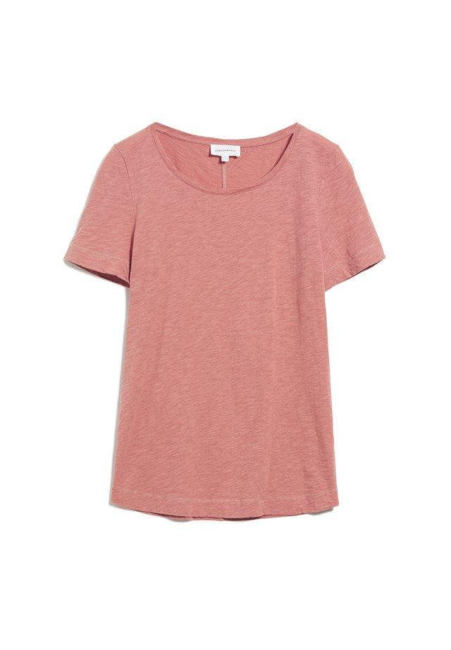 JOHANNAA - T-Shirt basic - cinnamon rose