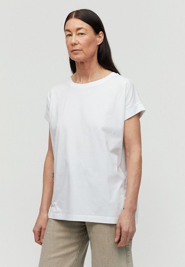 IDAA LOGO - Basic T-shirt - white