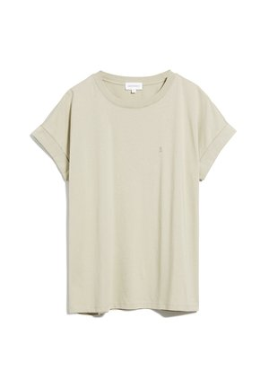 IDAA LOGO - Basic T-shirt - beige