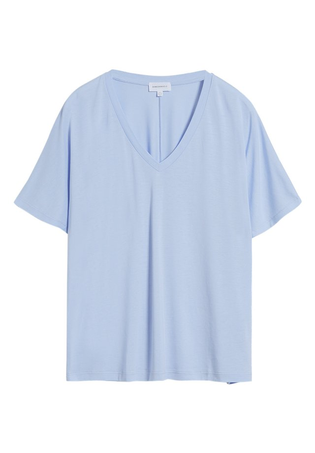 MIRAA - Basic T-shirt - pure blue